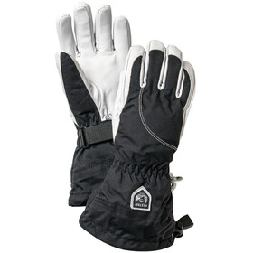 Hestra Heli Ski 5 Finger Gloves Damen black/offwhite